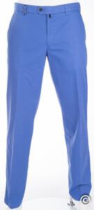MENS Thin Supima Cotton Madeira Broek Midden Blauw