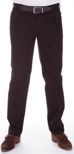 MENS Zwarte Bandplooi Jeans Porto Jeans Zwart