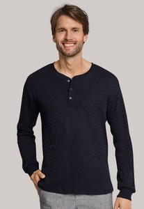 Schiesser Mix & Relax Button Shirt Antraciet