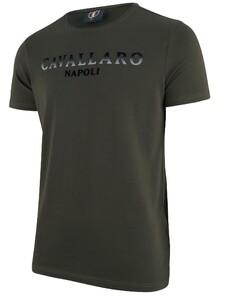 Cavallaro Napoli Terra R-Neck Donker Groen