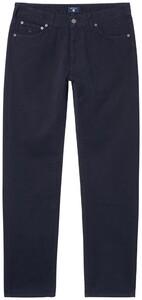 Gant Regular Straight Soft Twill Jeans Navy