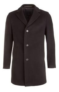 EDUARD DRESSLER Ruben Wool-Cashmere Coat Zwart