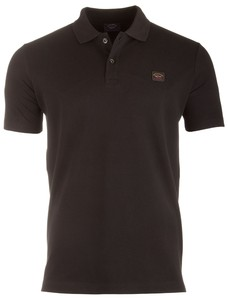 Paul & Shark Organic Cotton Basic Polo Zwart