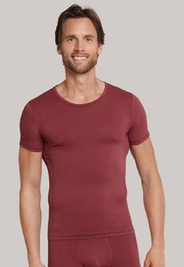 Schiesser Seamless Active Shirt Bordeaux
