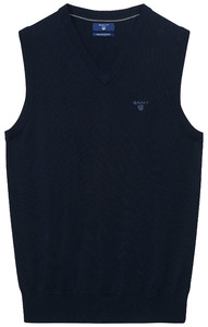 Gant Leight Weight Cotton Slipover Navy
