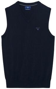 Gant Leight Weight Cotton Slipover Navy