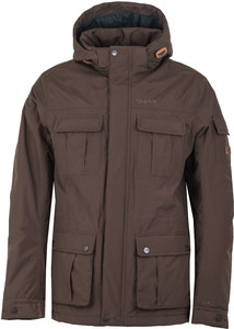 Tenson Deyton Jacket Dark Brown Melange