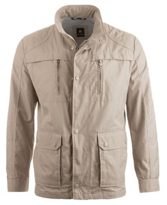 Pierre Cardin All Weather Techno Coated Jacket Khaki