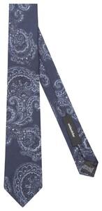 Seidensticker Fantasy Tie Donker Blauw Melange