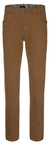 Gardeur Bill-2 Cashmere Cotton 5-Pocket Terracotta