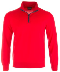 Paul & Shark Three in One - Cool Touch Wool Sweater Rood