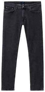 Gant Tapered Jeans Grey Worn In