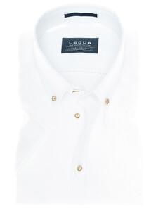 Ledûb Linen Mix Summer Shirt Wit