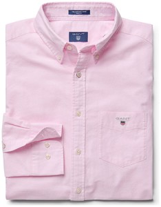 Gant The Oxford Shirt Zacht Roze
