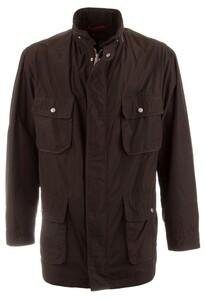 Pierre Cardin Gore-Tex Long Jacket Donker Bruin