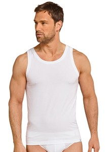 Schiesser Singlet Long Life Soft White