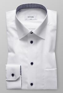 Eton Uni Medallion Details Wit