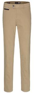 Gardeur Benny-3 Cashmere Cotton Flat-Front Camel