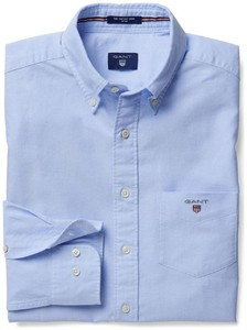 Gant The Oxford Shirt Fitted Licht Blauw