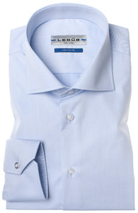 Ledûb Dress-Shirt Non-Iron Licht Blauw