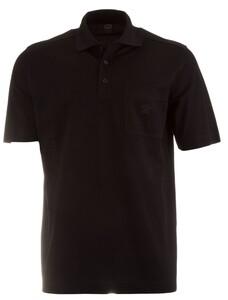 Paul & Shark Basic Breast Pocket Polo Poloshirt Black