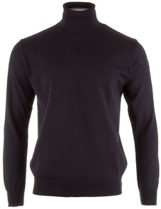 Paul & Shark Basic Merino Extra Fine Rollneck Pullover Navy