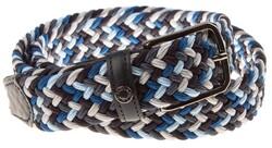Paul & Shark Blue Blue Braided Belt Belt Blue