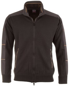Paul & Shark Caffè Contrast Pullover Black