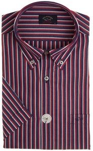 Paul & Shark Double Stripe Overhemd Rood