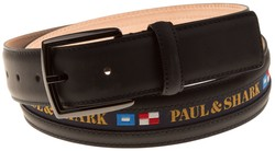 Paul & Shark Duo Flag Belt Navy