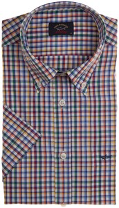 Paul & Shark Fine Multicolored Check Overhemd Multicolor
