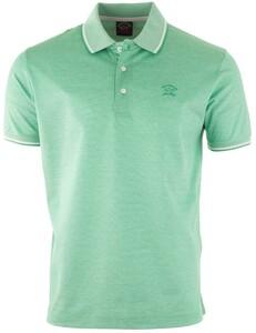 Paul & Shark Fine Piqué Summer Polo Poloshirt Light Green