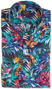 Paul & Shark Flower Fantasy  Shirt Multicolor