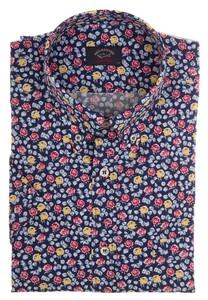 Paul & Shark Flower Shark Shirt Multicolor