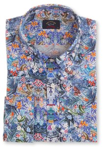 Paul & Shark Hawai Flower Fantasy Shirt Multicolor