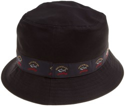 Paul & Shark Logo Bucket Hat Cap Navy