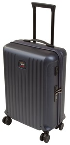 Paul & Shark Luggage Sleek Trolley Navy