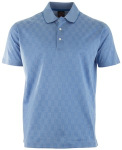 Paul & Shark Luxury Block Poloshirt Light Blue