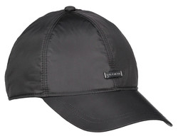 Paul & Shark Metal Shark Shield Plain Cap Cap Black