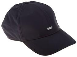 Paul & Shark Metal Shark Shield Plain Cap Cap Navy