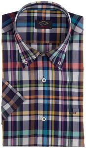 Paul & Shark Multicolor Check Shirt Overhemd Multicolor