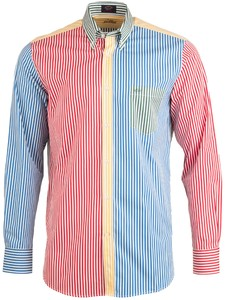 Paul & Shark Multicolor Stripe Overhemd Multicolor