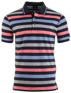 Paul & Shark Multicolor Summer Stripe Poloshirt Multicolor