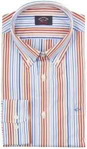 Paul & Shark Nautical Stripes Overhemd Wit