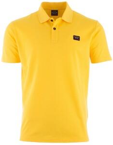 Paul & Shark Organic Cotton Basic Polo Poloshirt Yellow