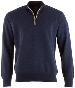 Paul & Shark Piqué Barley Grain Pullover Rafblue