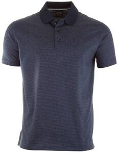 Paul & Shark Point Pattern Poloshirt Blue