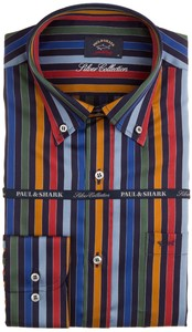 Paul & Shark Rich Stripes Overhemd Multicolor