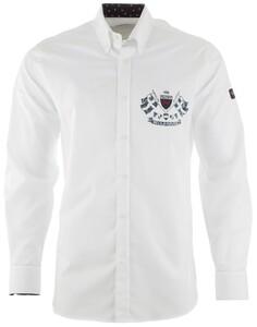 Paul & Shark Royal Yachting Emblem  Overhemd Wit
