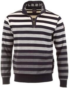Paul & Shark Shading Stripes Pullover Navy